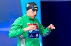 Darragh Greene secures Olympic qualification time as Longford swimmer set for Tokyo 2020