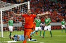 Hit for 6: Michael O'Neill unhappy at Dutch disaster