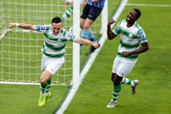 Shamrock Rovers warm up for Europa League clash with seven-goal hammering of UCD