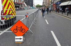 Traffic-free measures at Dublin's College Green to be reviewed after security barriers draw complaints