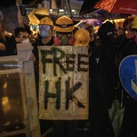 Mob attack in Hong Kong leaves dozens wounded following protest march