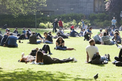 Expect to see lots of warm and sunny weather today and tomorrow