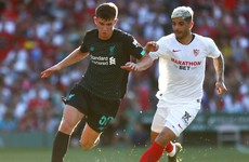 Liverpool-Sevilla friendly marred by horrible challenge as Reds lose