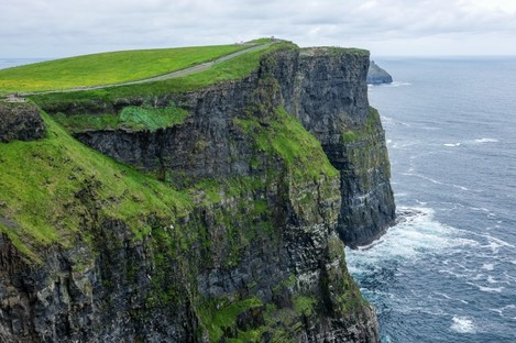 The Cliffs of Moher in Co Clare.