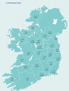 Where in the country are the most personal injury claims awarded?