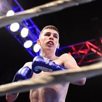 Stevie McKenna will seek a third straight pro victory on Saturday week
