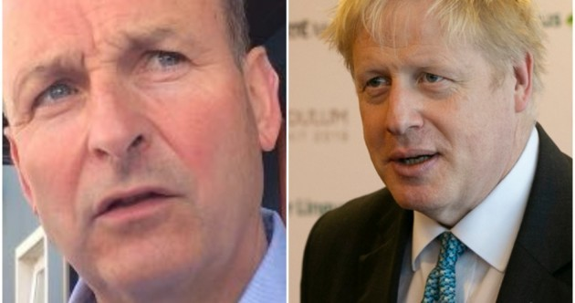 Boris Johnson in Downing Street 'quite rightly raises enormous fears', says Micheál Martin