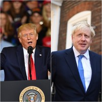'They call him Britain Trump': US president congratulates Boris Johnson on being elected