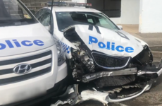 Man charged after crashing van filled with €125.6 million worth of drugs into police car in Sydney