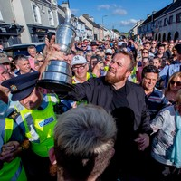 In Pictures: 10 of the best snaps as Lowry savours his triumphant homecoming in Clara