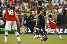 Bale scores what could be his last Madrid goal as Real beat Arsenal in Washington