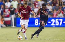 Paolo Maldini's 17-year-old son makes Milan debut in defeat to Bayern