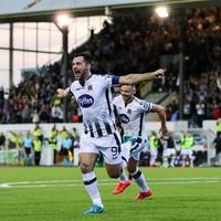 Hoban strikes late to hand Dundalk a Champions League lifeline against Qarabag