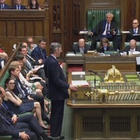 Jacob Rees-Mogg addresses proroguing parliament in his first speech as Leader of the Commons