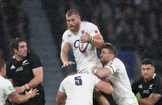Foot injury puts World Cup in doubt for England's Brad Shields