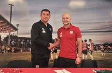 Scottish midfielder recruited by Derry City