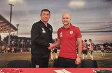 Scottish midfielder recruited by Derry City
