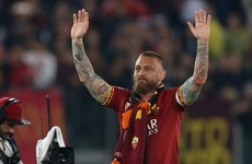 Boca Juniors confirm capture of Roma legend De Rossi