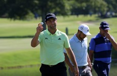 Irish Open winner Rahm shoots 62 to roar into three-shot lead in Memphis