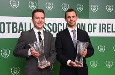 The42's Eoin Lúc Ó Ceallaigh and Aaron Gallagher pick up FAI Communications Awards