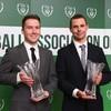 The42's Eoin Lúc Ó Ceallaigh and Aaron Gallagher pick up FAI Communications Awards