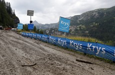 Penultimate stage of Tour de France curtailed due to fear of landslides