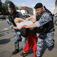 'Honestly, I'm scared': Over 1,000 people arrested at Moscow rally for fair elections