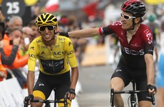 Bernal set to become first Colombian to win Tour de France after shortened stage