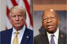 Outrage as Trump lashes out at African-American lawmaker and calls Baltimore 'infested mess'