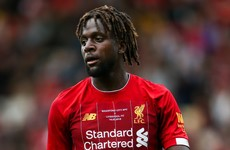Divock Origi 'the whole world wanted' is back for Liverpool, says Klopp