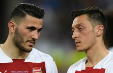 Ozil and Kolasinac 'not 100% there' after carjacking drama