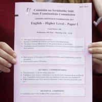 Good luck! Leaving and Junior Cert students begin exams this morning