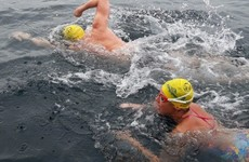 Dublin trio break record swimming the North Channel from Northern Ireland to Scotland
