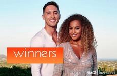 Irishman Greg O'Shea wins Love Island with Amber Gill