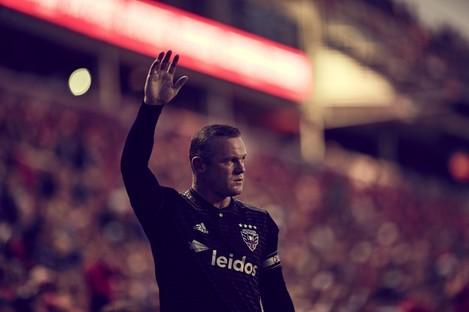 DC United striker, Wayne Rooney.