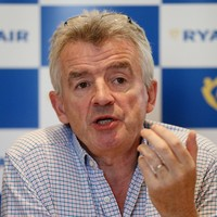 Ryanair boss Michael O'Leary earned almost €10,000 a day in the past year