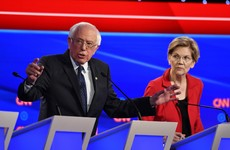 'I wrote the damn bill': Bernie comes out fighting as Democrats clash in presidential debate