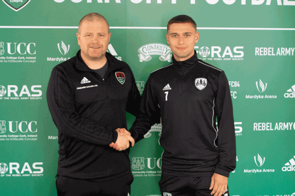 Cork City sign Derry City attacker Eoghan Stokes