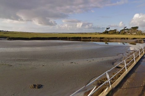 The incident happened near the shoreline on Carrig Island