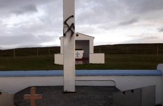 'Some thugs have been busy with spray paint': Garda probe launched after Swastika daubed on holy site