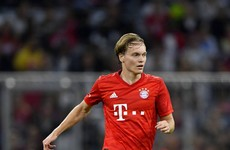 Ireland underage international impresses for Bayern Munich against Tottenham in Audi Cup