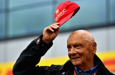 Mercedes reveal Lauda tribute on anniversary of Nurburgring crash