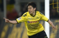 Done: United seal Kagawa transfer from Dortmund
