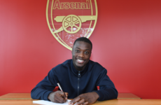Arsenal confirm signing of Ivorian winger Pepe for club-record fee
