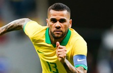 Dani Alves set for a return to Brazil with Sao Paulo