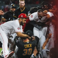 Six players and two managers suspended by MLB over Pirates-Reds brawl