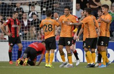 Wolves progress in Europe as Jimenez's double downs Crusaders