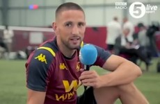 Hourihane offers reward for British commentators to stop making a hames of his surname