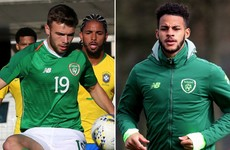 Ireland U21 pair in line for loan moves to Sweden