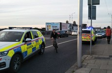 Man arrested after dramatic car chase across Dublin yesterday evening